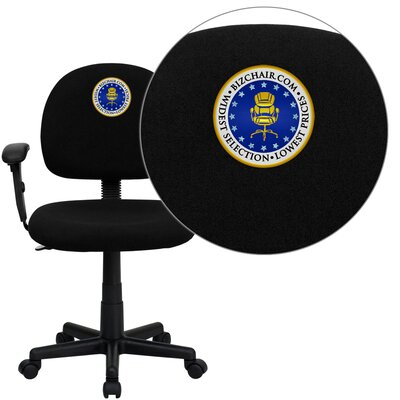 Flash Furniture Personalized Mid-Back Ergonomic Task Chair