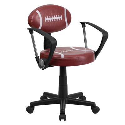 Flash Furniture Football Task Chair with ..