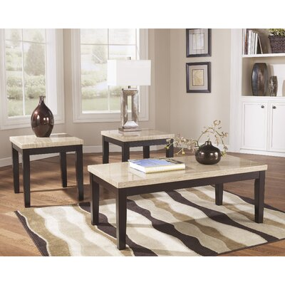 Flash Furniture Wilder 3 Piece Coffee Table Set