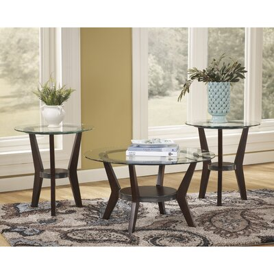 Flash Furniture Fantell 3 Piece Coffee Table Set
