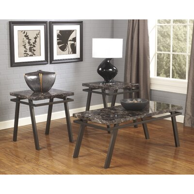 Flash Furniture Paintsville 3 Piece Coffee Table Set