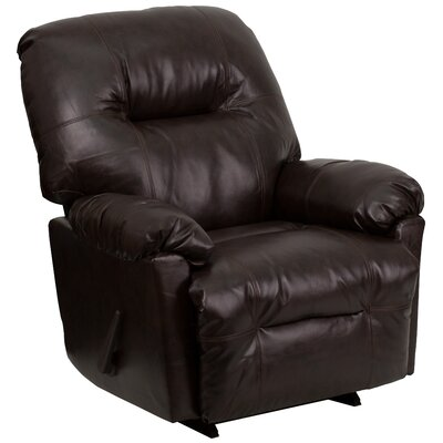 Flash Furniture Contemporary Leather Chaise Recliner