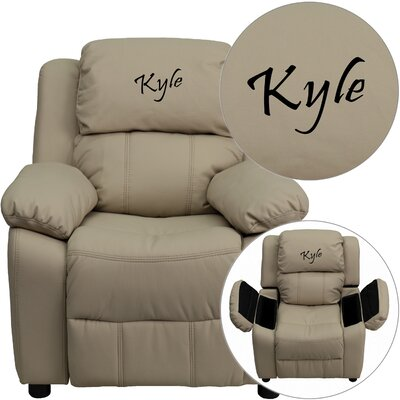 Flash Furniture Deluxe Contemporary Personalized Kids