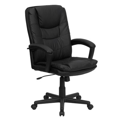 Flash Furniture High-Back Leather Executi..