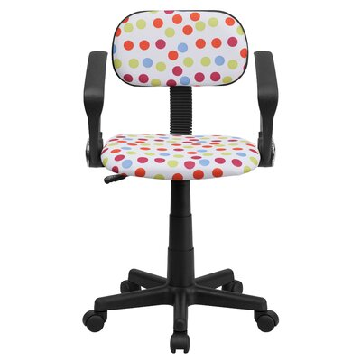 Flash Furniture Low-Back Desk Chair