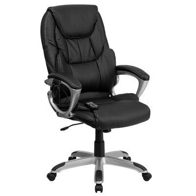 Flash Furniture High-Back Leather Massagi..