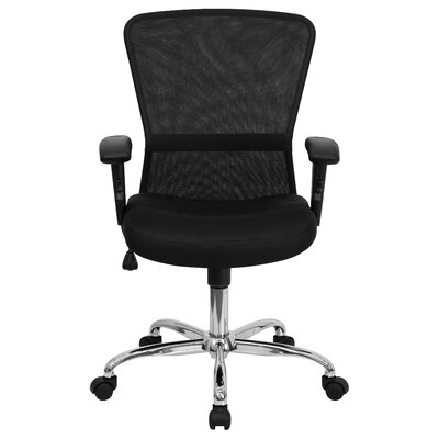 Flash Furniture Mid-Back Mesh Contemporary Office Chair (Set of 2)