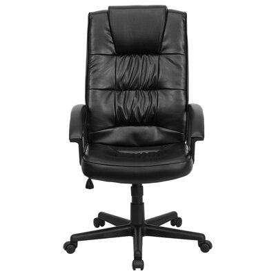 Flash Furniture High-Back Leather Executive Chair Image