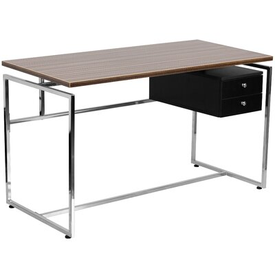 Flash Furniture Writing Desk with 2 Drawer S..