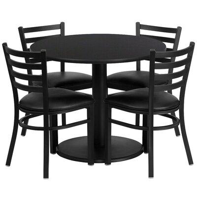 Flash Furniture 5 Piece Dining Set