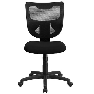 Flash Furniture Mid-Back Conference Chair with Padded Fabric Seat