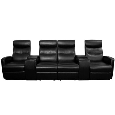Flash Furniture 4 Seat Home Theater Recli..