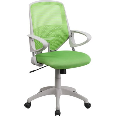 Flash Furniture Mesh Mid-Back Office Chair with Arms Image
