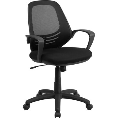 Flash Furniture Mid-Back Mesh Conference Chair with Arms