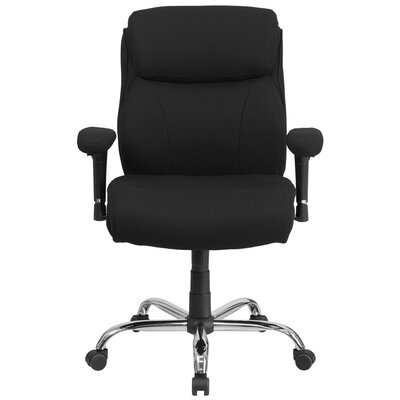 Flash Furniture Hercules Series Mid-Back Executive Chair with Arms