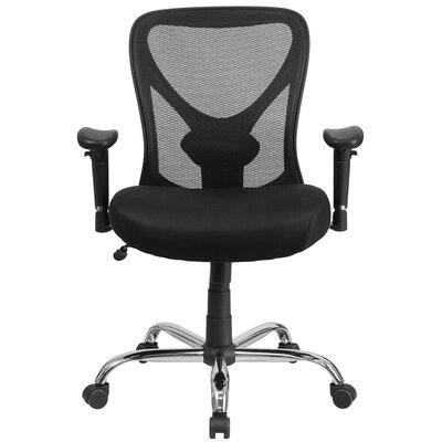 Flash Furniture Hercules Series Mid-Back Mesh Conference Chair with Arms