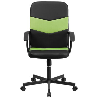 Flash Furniture Mid-Back Black Mesh Executive Chair