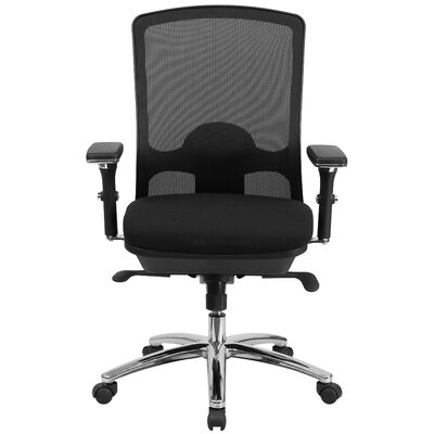 Flash Furniture Hercules Series Mid-Back Mesh Swivel Chair with Synchro-Tilt