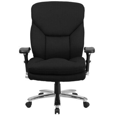 Flash Furniture Hercules Series Swivel Chair with Lumbar Support Knob Image