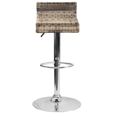Flash Furniture Adjustable Height Swivel Bar Stool (Set of 2)