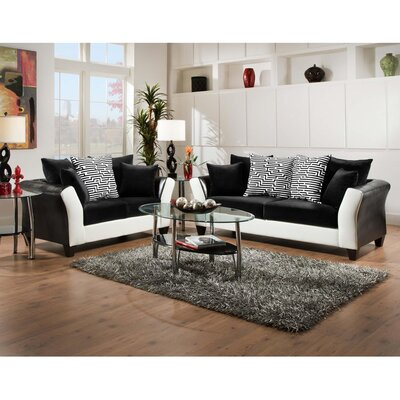 Flash Furniture Riverstone Implosion Living Room..