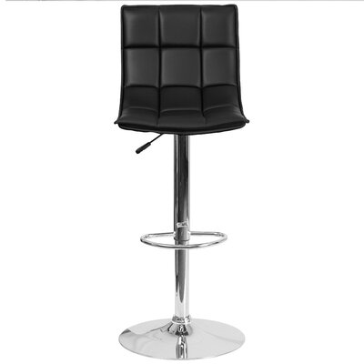 Flash Furniture Adjustable Height Swivel Bar St..