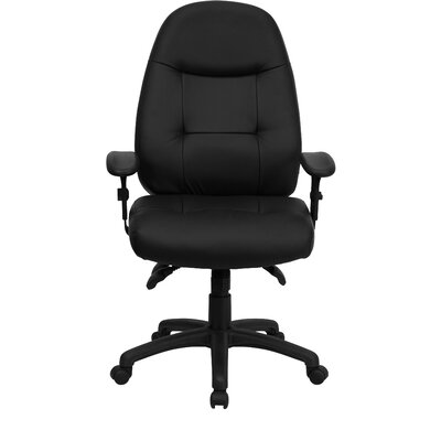 Flash Furniture Multi-Functional High-Back Executive Chair with Height Adjustable Arms