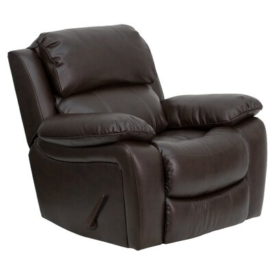 Flash Furniture Leather Rocker Recliner