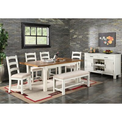 August Grove Eloise 6 Piece Dining Set