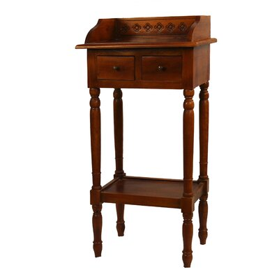Antique Revival Reed 2 Drawer Nightstand