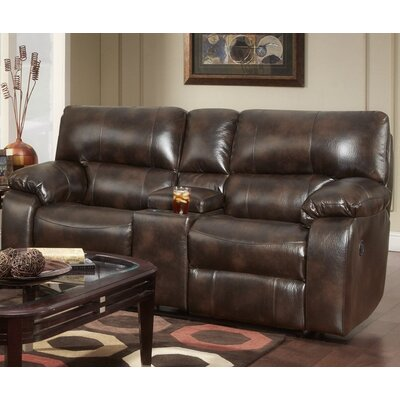 Chelsea Home Furniture Rita Reclining Loveseat with Console