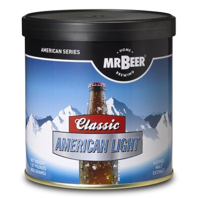 Mr beer mr beer classic american light beer making for American classic homes reviews