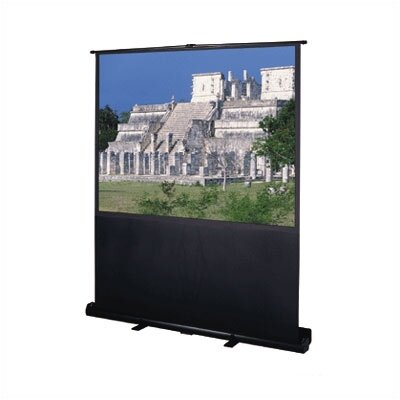 Da lite deluxe insta theater matte white portable projection screen