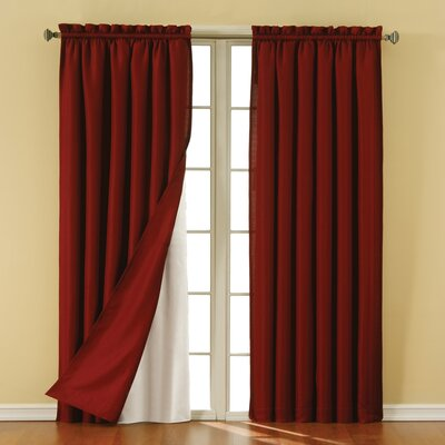 Eclipse Curtains Liner Rod Pocket Blackout Single Panel Reviews Wayfair