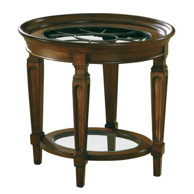 Hekman Accents Metal Grille End Table