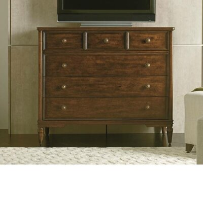 Canora Grey Hyde 5 Drawer Media Chest