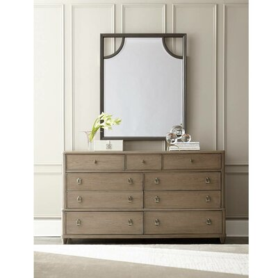 Stanley Furniture Virage 9 Drawer Dresser with M..