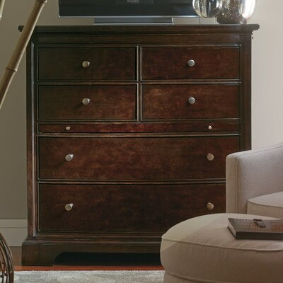 Canora Grey Turner 6 Drawer Media Chest