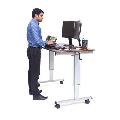 Luxor Standing Desk with Casters Image