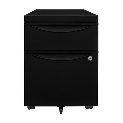 Luxor 2 Drawer Mobile Pedestal File Cabinet