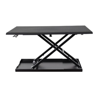 Luxor Pneumatic Adjustable Desktop Desk
