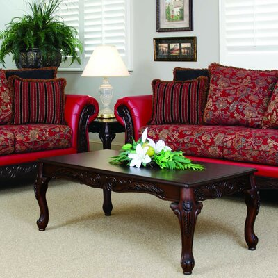 Astoria Grand Serta Upholstery Belmond Coffee Table Set