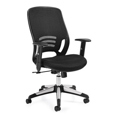Offices To Go Mesh Tilter Chair with A..