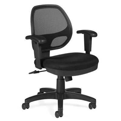 Offices To Go Low-Back Mesh Office Chair ..