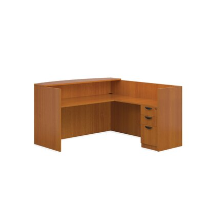 Offices To Go Superior Laminate Reception Desk