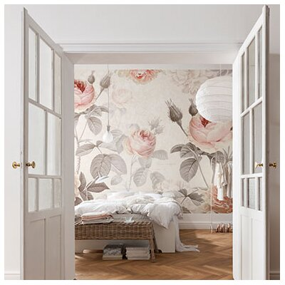 Brewster home fashions komar la maison wall mural for Brewster home fashions wall mural
