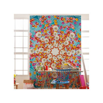 Brewster home fashions komar happiness wall mural wayfair for Brewster wall mural