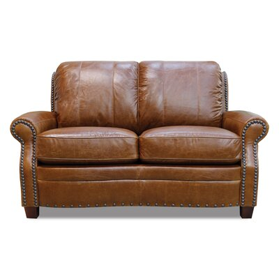 Luke Leather Ashton Leather Modular Loveseat