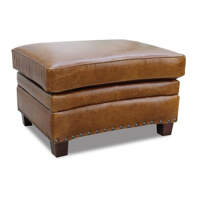 Luke Leather Ashton Leather Ottoman