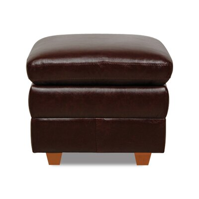 Luke Leather Austin Leather Ottoman
